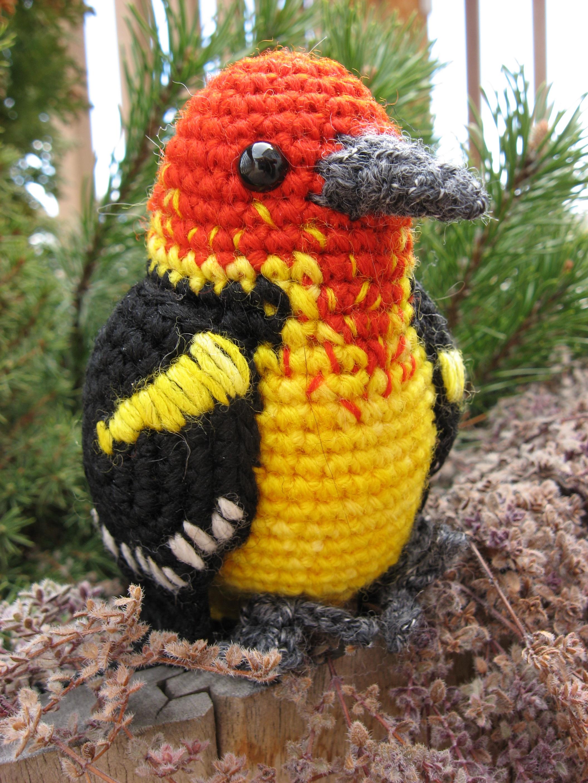 Вязание крючком для птиц
